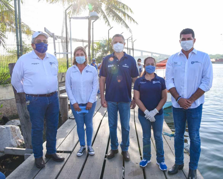 Supervisan filtros sanitarios en pasos de embarcaciones