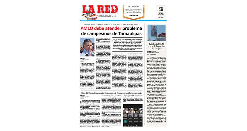 AMLO debe atender problema de campesinos de Tamaulipas