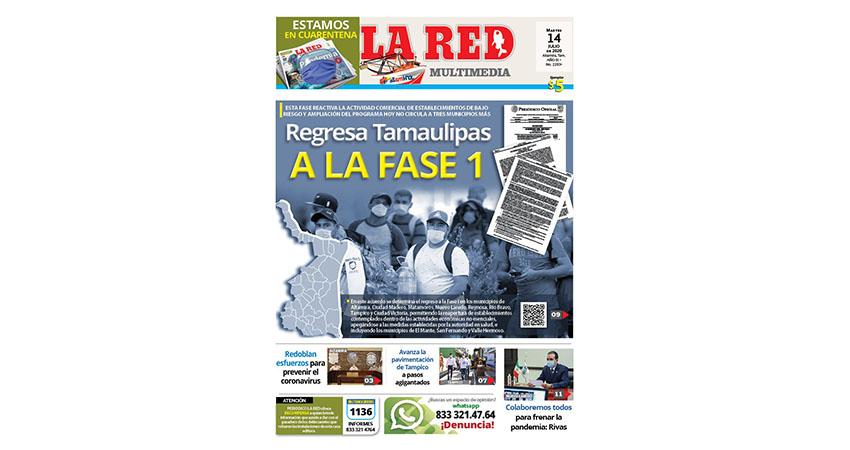 Regresa Tamaulipas a la fase 1