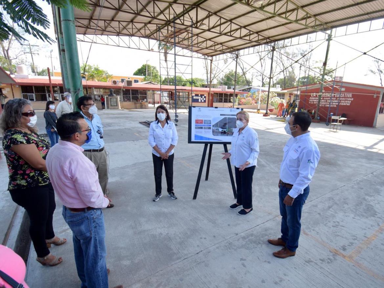 Impulsar educación en Altamira una prioridad