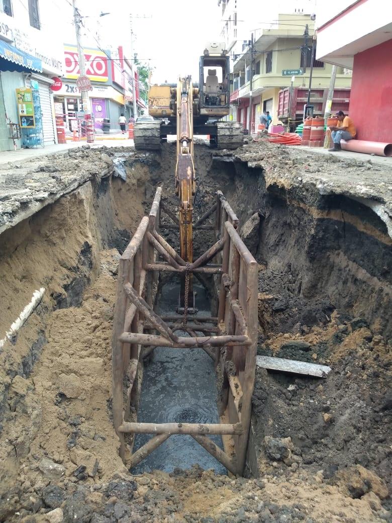 Optimizan la red de drenaje y agua potable de Altamira