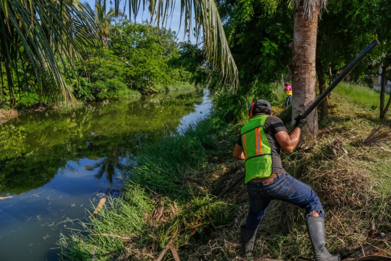 Trabaja municipio en la prevención de riesgos por lluvias