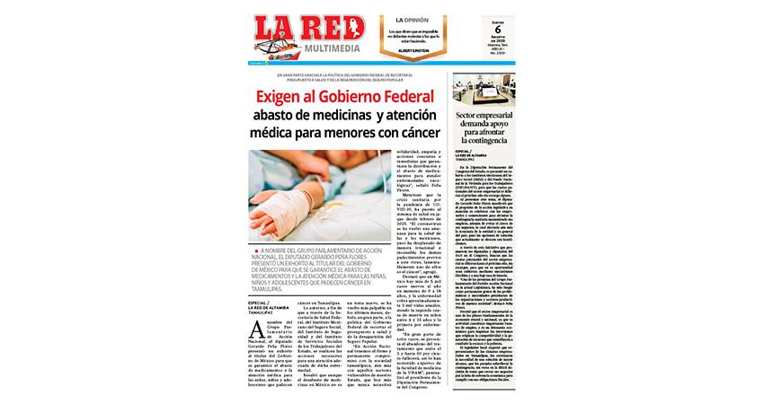 Exigen al Gobierno Federal abasto de medicinas  y atención médica para menores con cáncer