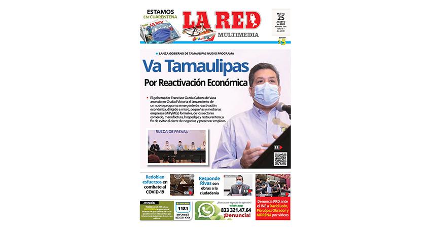 Va Tamaulipas Por Reactivación Económica