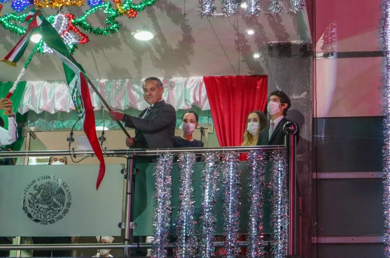 Madero festeja tradicional Grito de Independencia