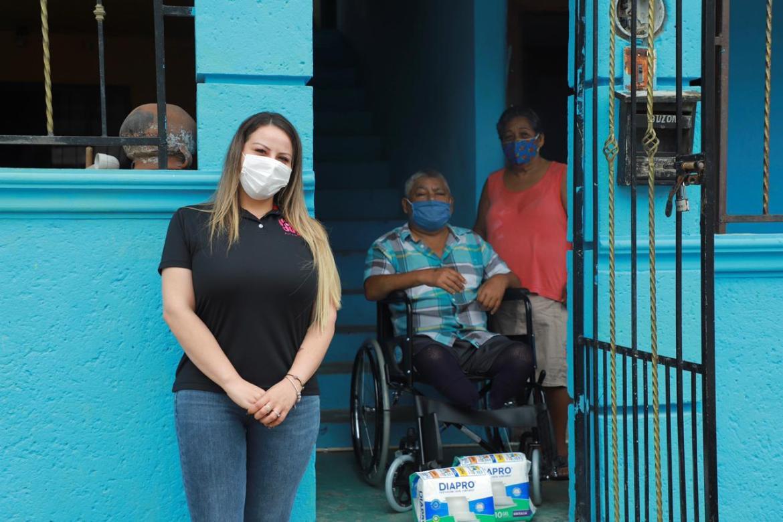 Comprometido DIF Altamira con la población vulnerable