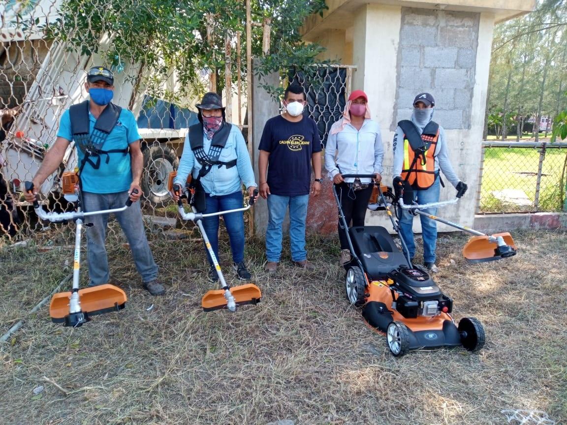 Moderniza Servicios Públicos de Madero equipo de limpieza