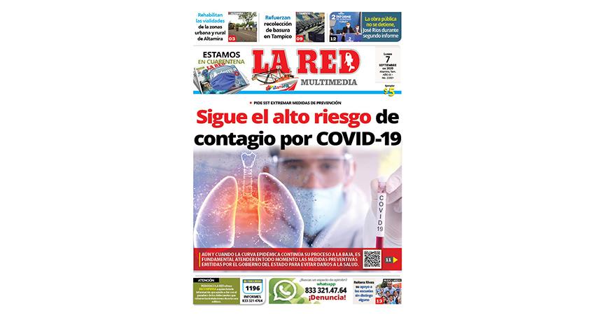 Sigue el alto riesgo de contagio por COVID-19