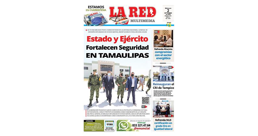 Estado y Ejército Fortalecen la Seguridad en Tamaulipas