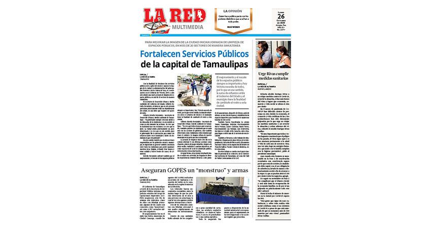Fortalecen Servicios Públicos de capital de Tamaulipas