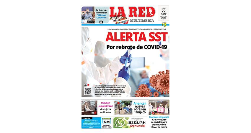 ALERTA SST Por rebrote de COVID-19