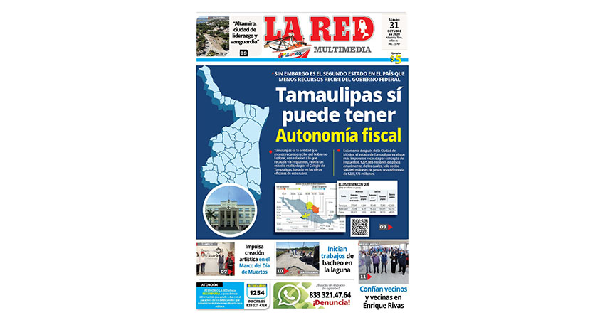 Tamaulipas sí puede tener autonomía fiscal