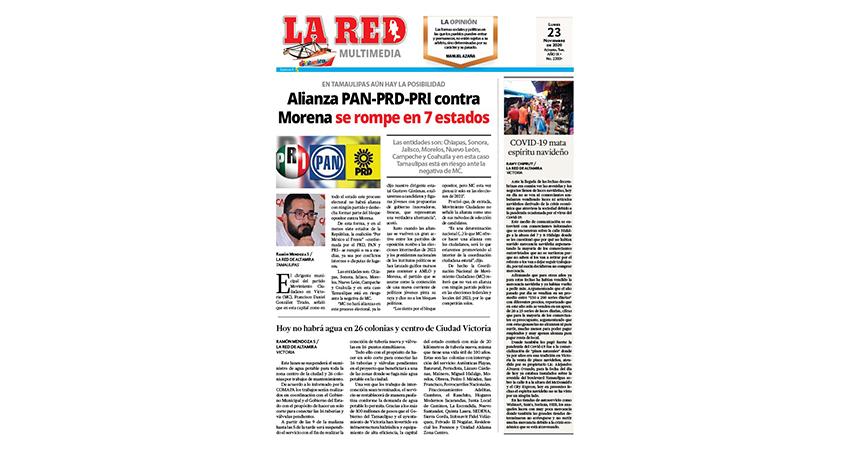 Alianza PAN-PRD-PRI contra Morena se rompe en 7 estados