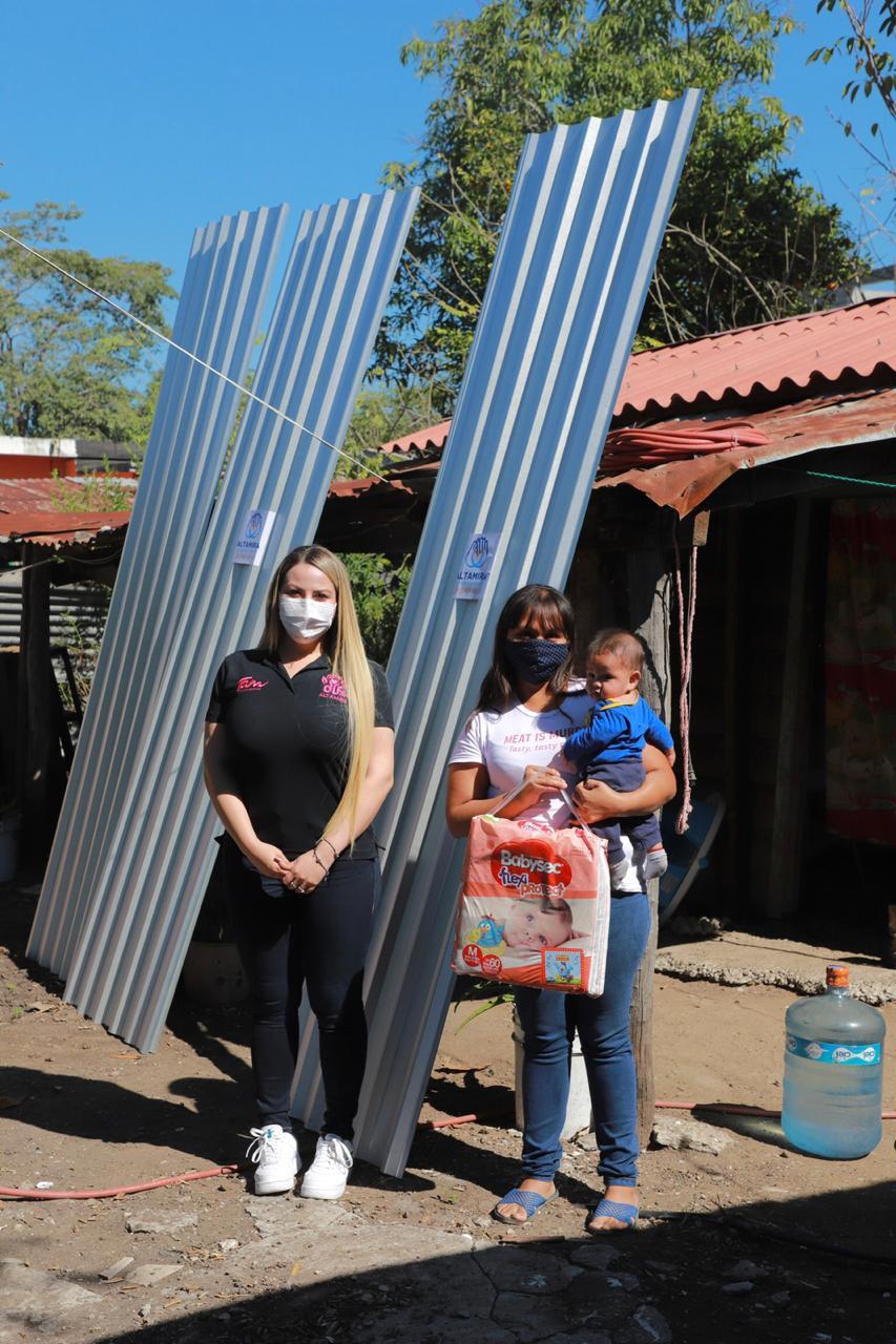 Refrenda DIF respaldo a familias ante pandemia