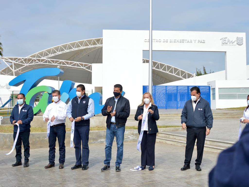 """Inauguran el """"Centro de Bienestar y Paz"""" de Altamira"""