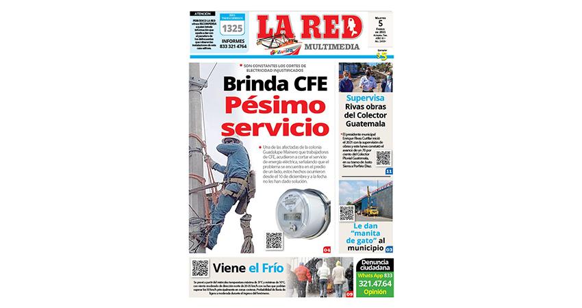Brinda CFE pésimo servicio