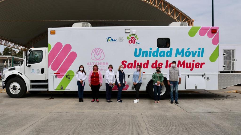 """Activa """"El Camión de la Salud'' en beneficio de mujeres altamirenses"""