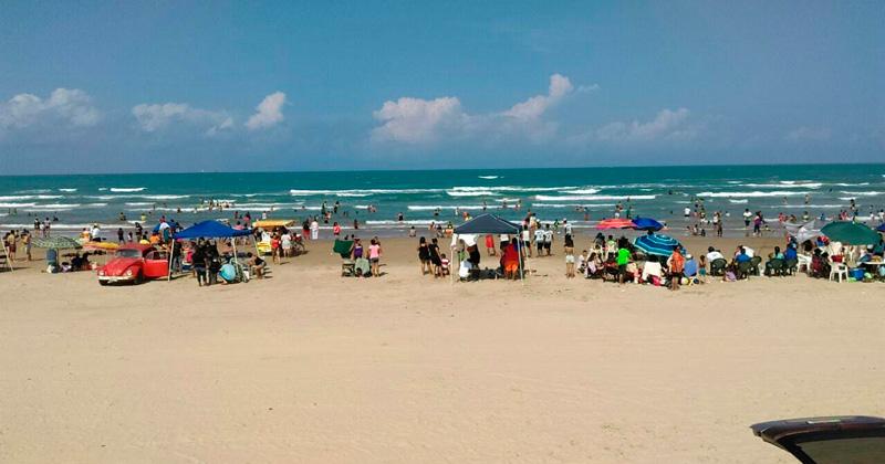 Abren acceso a zona de bañistas en Playa Tesoro