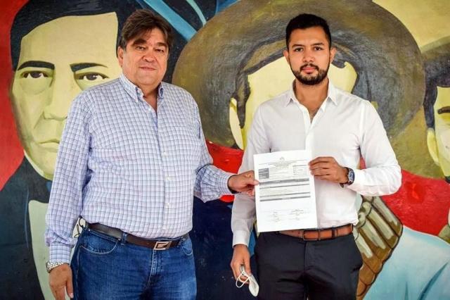 Tumban a candidato preso de Morena, PT y PVEM y su hijo lo sustituye