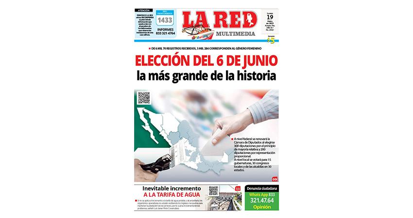 ELECCIÓN DEL 6 DE JUNIO La más grande de la historia