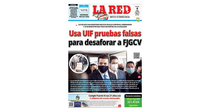 Usa UIF pruebas falsas para desaforar a FJGCV
