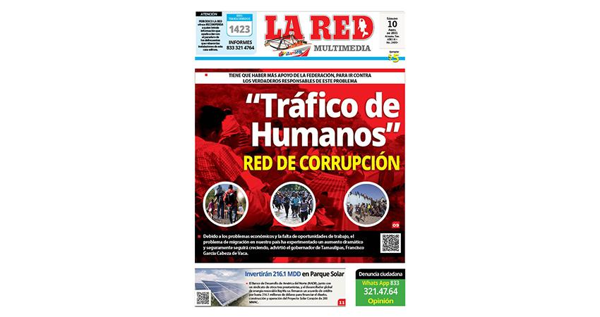 """""""Tráfico de Humanos"""" Red de corrupción"""