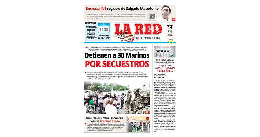 Detienen a 30 Marinos por secuestros