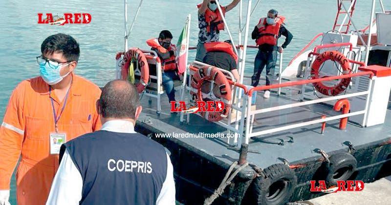 Embarcación Libia es puesta en cuarentena por Covid-19