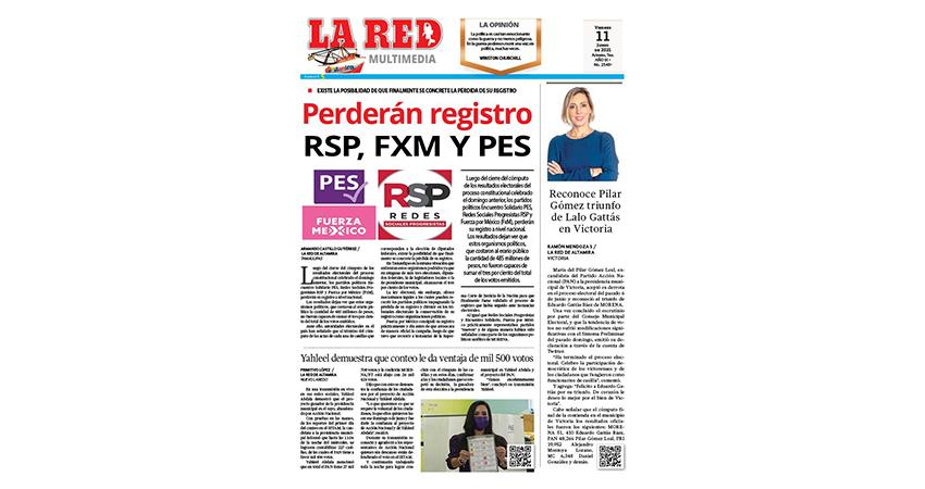 Perderán registro RSP, FxM y PES