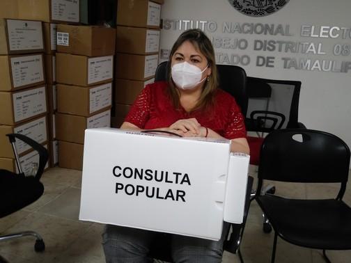 Rechaza INE acusaciones de falta dedifusióna Consulta Popular