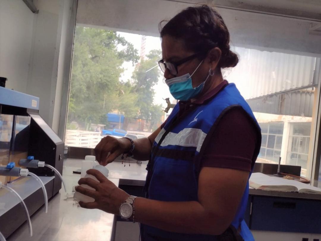 Intensa labor en Comapa para lograr calidad del agua