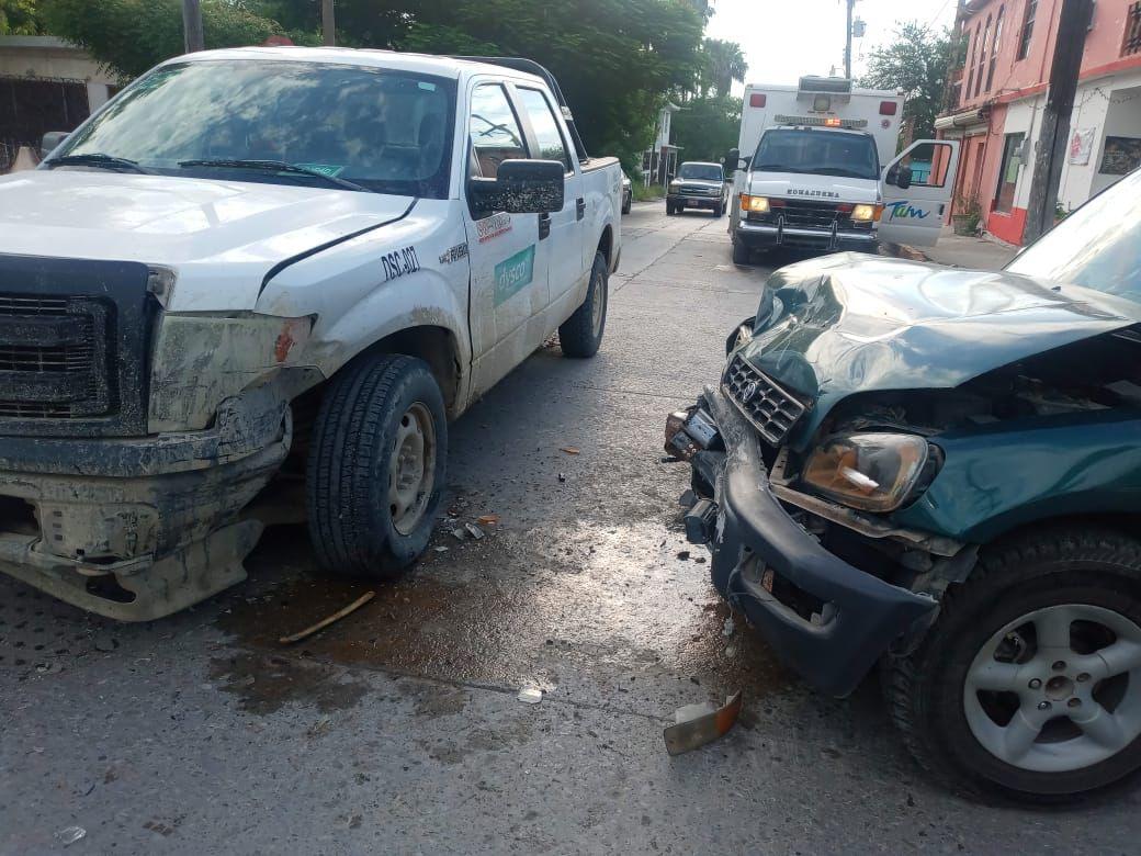 Se registran dos accidentes en la ciudad dejando sólo daños materiales