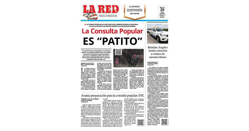 """La Consulta Popular es """"patito"""""""