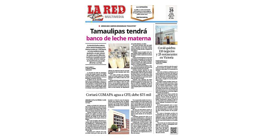 Tamaulipas tendrá banco de leche materna