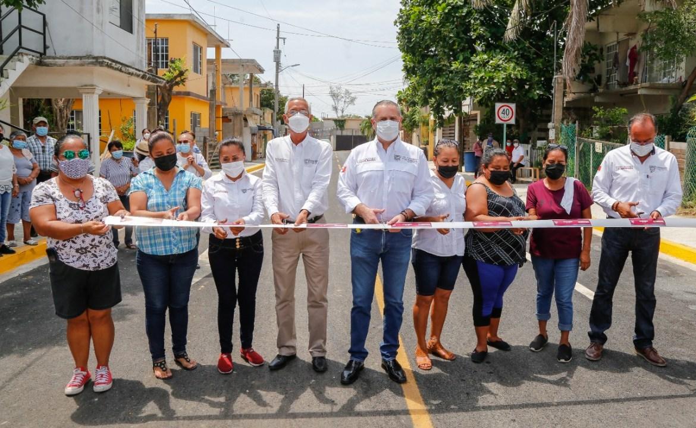 Programa de Obra Pública impulsa el desarrollo de Madero
