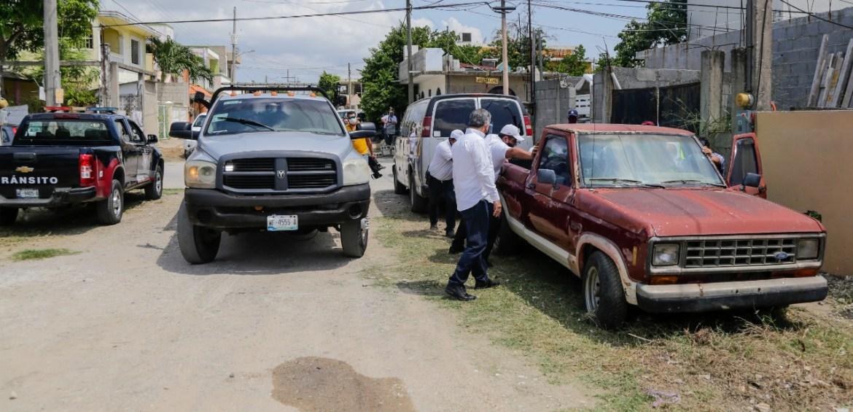 Inician operativo para retirar vehículos abandonados en la calle