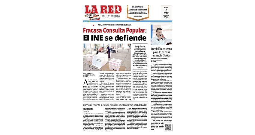 Fracasa Consulta Popular; El INE se defiende