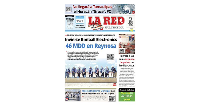 Invierte Kimball Electronics 46 MDD en Reynosa