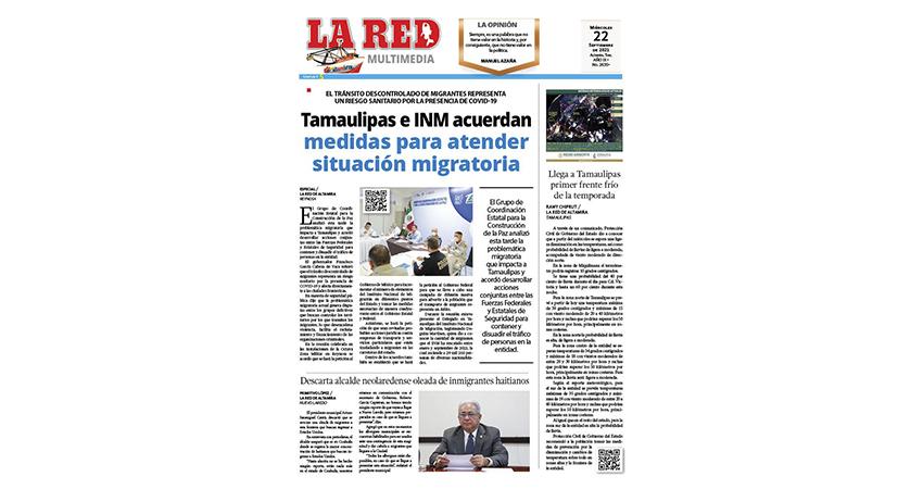 Tamaulipas e INM acuerdan medidas para atender situación migratoria