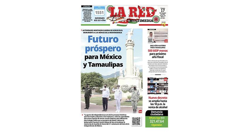 Futuro próspero para Tamaulipas y México