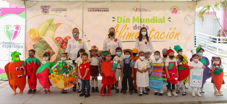 Promueve DIF Madero la sana alimentación en la niñez
