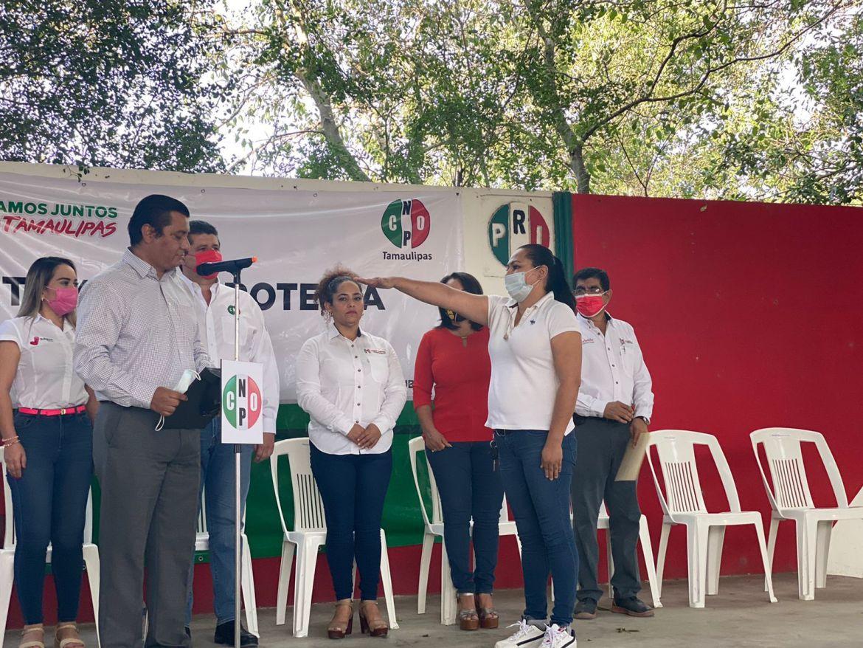Realizan toma de protesta de Estructura Municipal y CNOP en PRI San Fernando