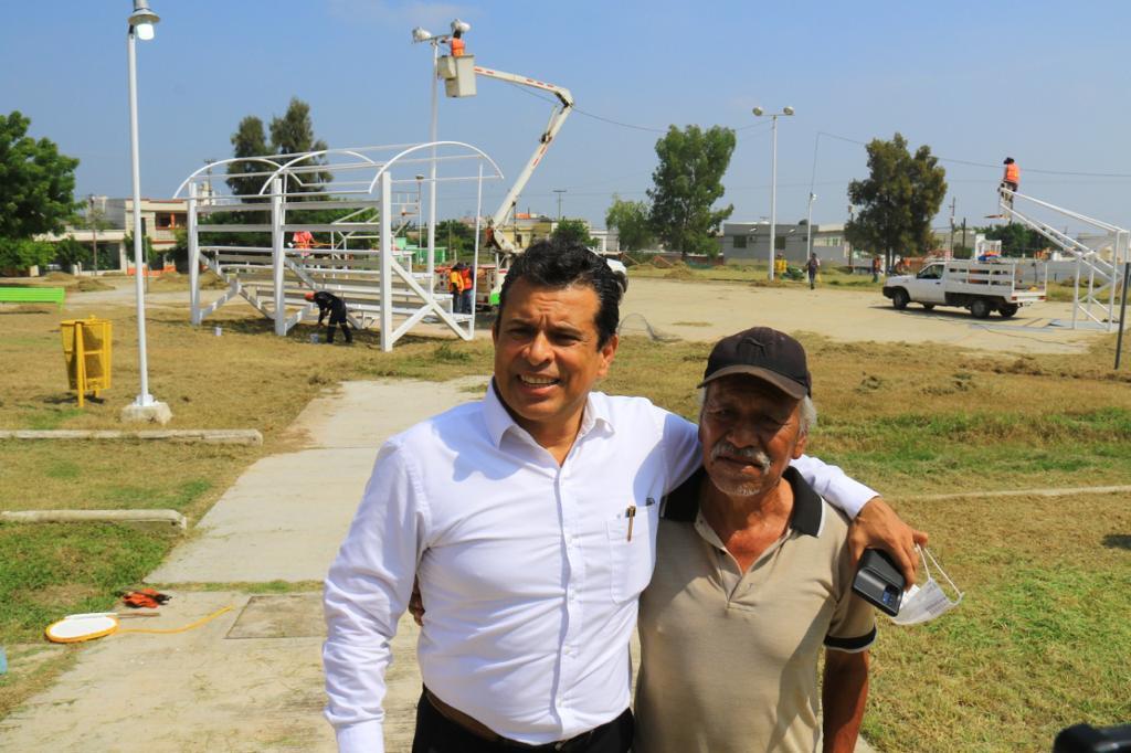 Trabaja Gattás en la reconstrucción del tejido social de Victoria