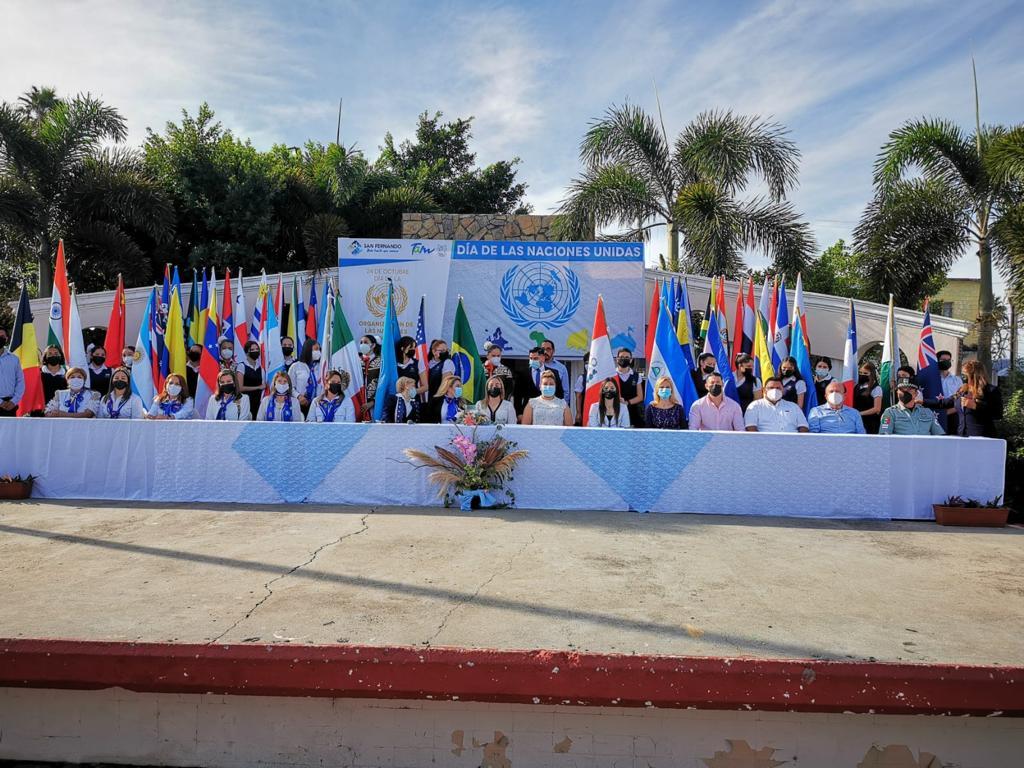 Celebra ayuntamiento Día de las Naciones Unidad