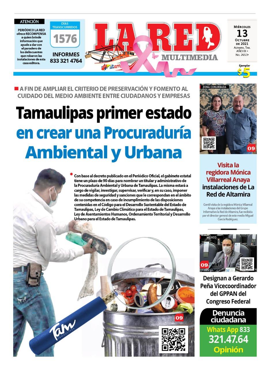 Tamaulipas primero en el país en crear una Procuraduría Ambiental y Urbana