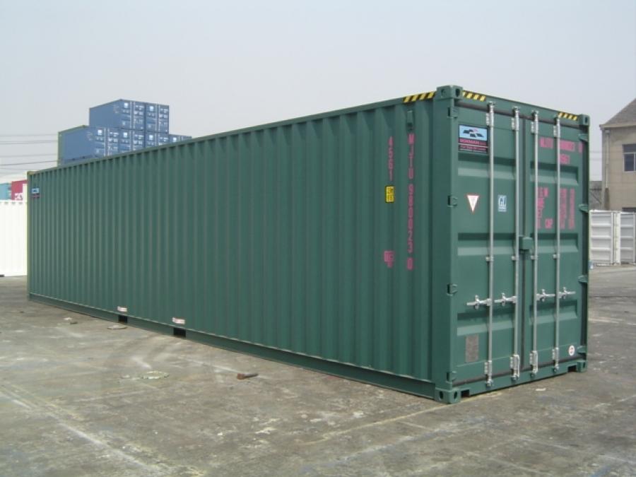 40' HC Container - Laredo Container Services