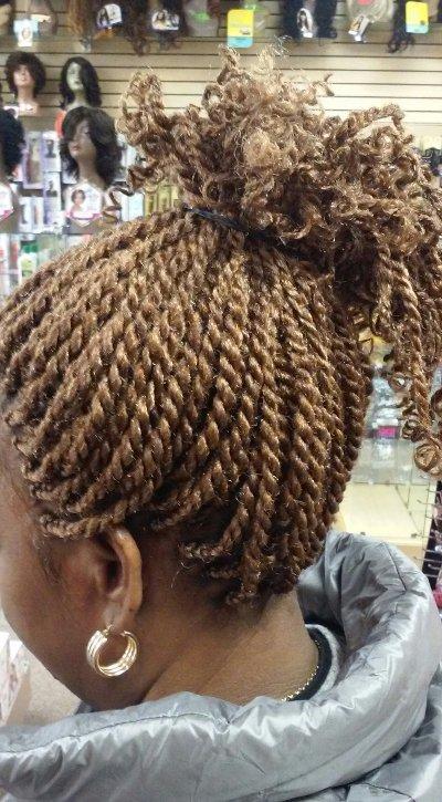 Kinky Twist Raleigh NC  La Reine African Hair Braiding