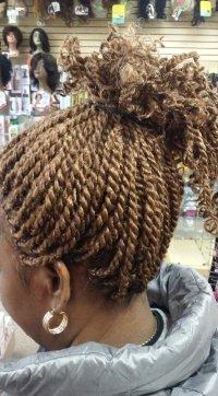Kinky Twist Raleigh NC | La Reine African Hair Braiding