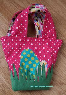 sac pour oeufs de Pâques