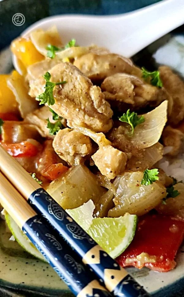 Diary-Free Asian Chicken Curry